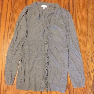 Maternity button up cardigan